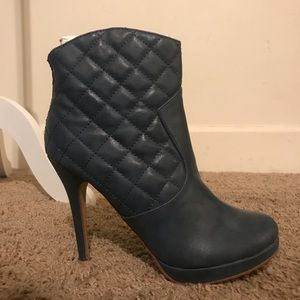 Michael Antonio Cobalt Blue booties! 8.5 NEW!
